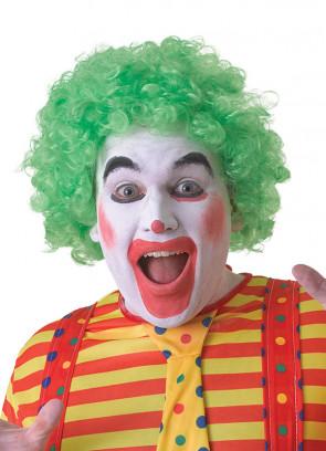 Green Clown Afro Pop Wig