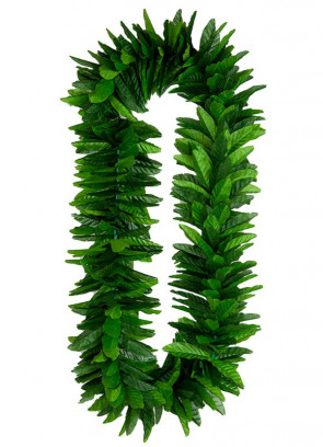 Green Leaf Hawaiian Lei