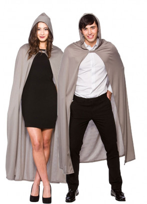 Hooded Cape Grey (Adults)