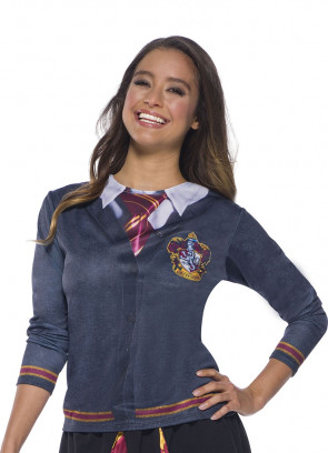 Gryffindor Costume Top - Ladies - Harry Potter
