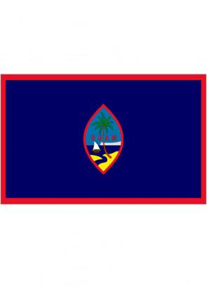 Guam Flag 5x3