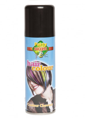 Colour Hair Spray (Black)