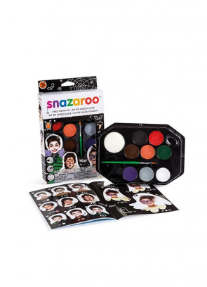 Snazaroo Halloween Face Painting Kit – Black Box