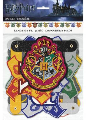 Harry Potter Hogwarts 'Happy Birthday' Banner – 6ft