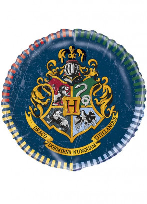 Harry Potter Hogwarts Foil Balloon – Double-Sided – Helium or Air-Fill – 45.7cm