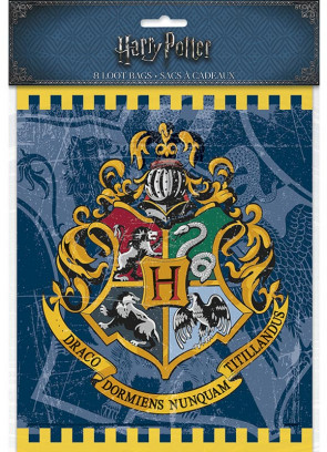 Harry Potter Hogwarts Party Bags – Small – 8pk