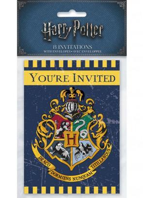 Harry Potter Hogwarts Party Invitation Cards – 8pk
