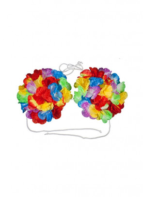 Hawaiian Flower Bra – Large – 15cm