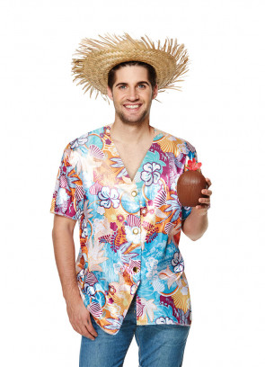 Hawaiian Shirt (Beach Print)