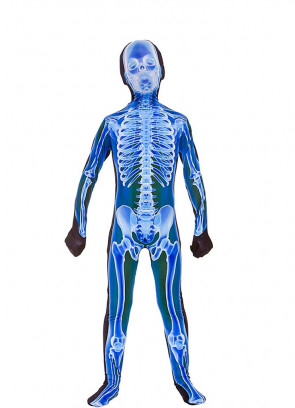 X-Ray Skeleton Skinz Blue