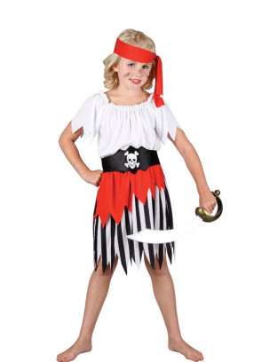 High Seas Pirate Girl Costume