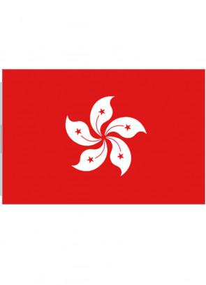 Hong Kong Flag 5x3