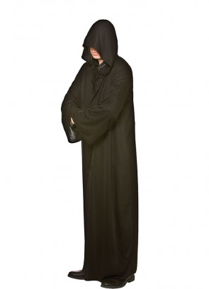 Adults Black Hooded Cloak - Magical-Lord
