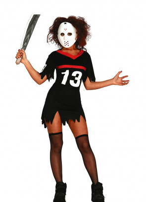 Horror Hockey Lady