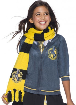 Deluxe Hufflepuff Embroidered Badge Scarf 180cm - Harry Potter