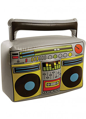 Inflatable 80s Boom Box 44 cm x 38 cm
