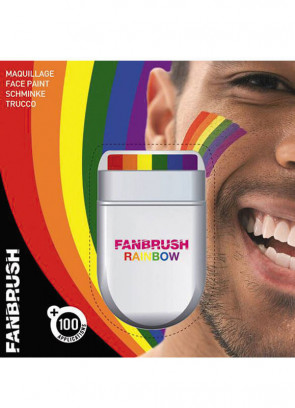 Fanbrush Instant Rainbow (Pride) Make-Up