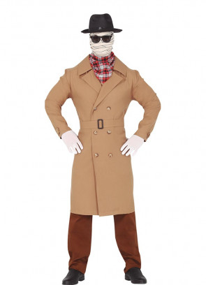 Invisible Man Costume (Hat Included)