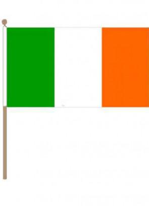 Ireland Hand Flag