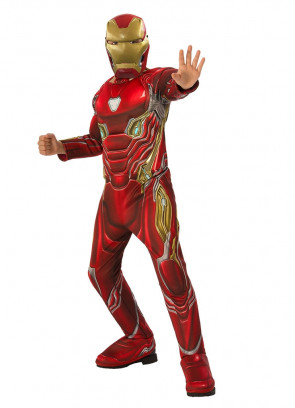 Iron Man Deluxe – Marvel – Kids Costume
