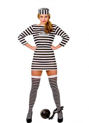 Jailbird Cutie Costume