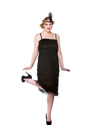 Jazzy Flapper - Black