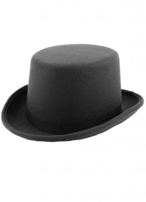 Black Felt Top Hat - Kids Size