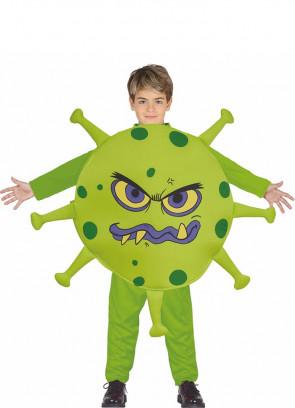 COVID Virus Kids Costume