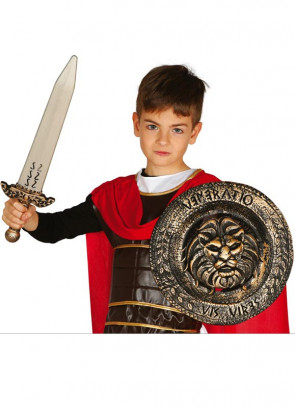 Kids Gladiator Sword & Shield Set