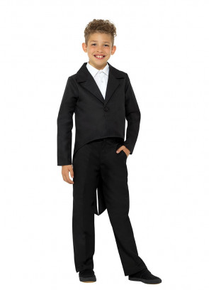 Black Tailcoat – Kids Costume