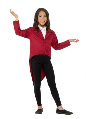 Red Tailcoat – Kids Showman Costume