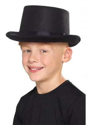Black Top Hat - Kids Size