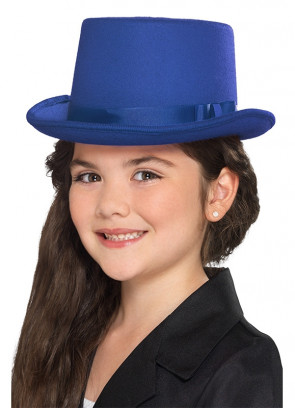 Blue Top Hat - Kids Size