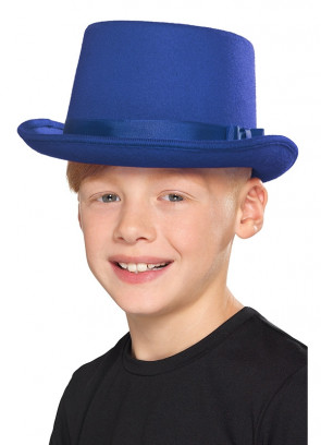 Blue Top Hat - Kids Size
