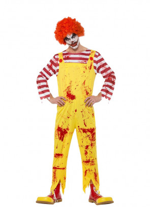 Burger Eating Killer Clown Costume