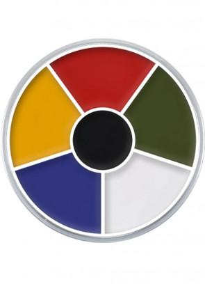 Kryolan Supracolor Cream Make-Up Circle - Multi-Colour