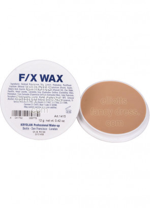 Kryolan F/X (Special Effects) wax 12g