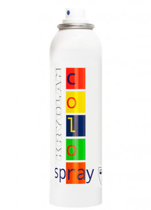 Kryolan Color Hair Spray (Black D40)