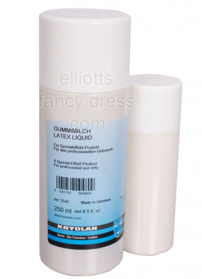 Kryolan Liquid Latex Professional Quality (Clear)(250ml)
