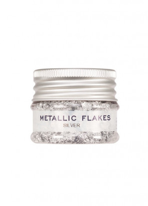 Kryolan Metallic Flakes - Silver (Plastic Free)