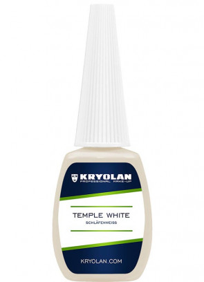 Kryolan Temple White – Ivory 12ml