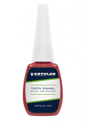 Kryolan Tooth Enamel - Red 12ml
