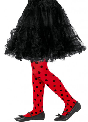 Kids Ladybird Tights - Age 8-12