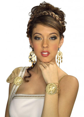 Ladies Roman Coin Bracelet