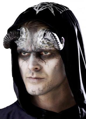 Latex Demon Horns - Black