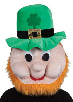 Leprechaun Mascot Headpiece