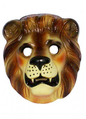 Lion Plastic Mask