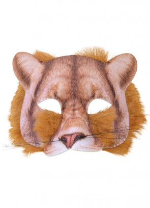 Lion Mask (Realistic Fur)