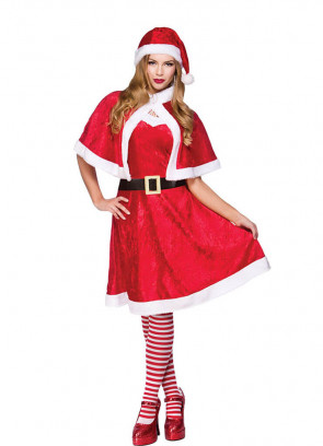 Little Miss Santa Costume