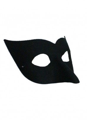 Long Nose Black Half Eye mask